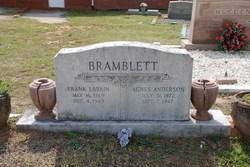 Agnes <i>Anderson</i> Bramblett