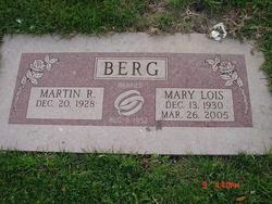 Mary Lois <i>Connelly</i> Berg