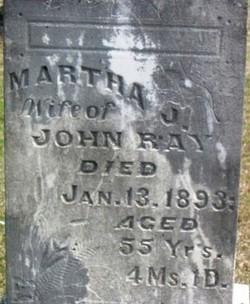 Martha Jane <i>Brown</i> Ray