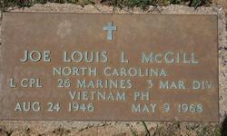 LCpl Joe Louis Lockhart McGill