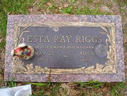 Esta Ray <i>Creech</i> Riggs