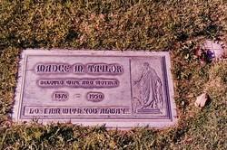Madge Magdaline <i>Sheets</i> Taylor