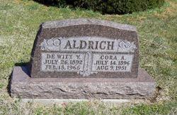 Cora Alice <i>Rosebery</i> Aldrich