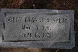 Bobby Franklin Avery