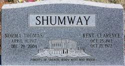 Norma <i>Thomas</i> Shumway