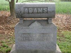 Frances E. <i>Stephens</i> Adams