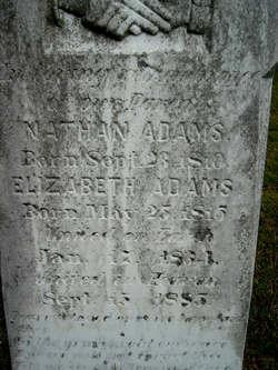 Elizabeth <i>Jones</i> Adams