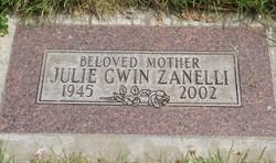 Julie <i>Gwin</i> Zanelli