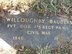 Pvt Willoughby Bauder