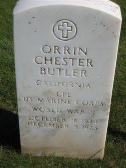 Orrin C Butler