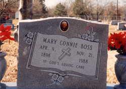 Mary Connie <i>Wynn</i> Boss