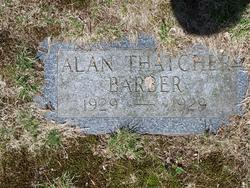 Alan Thatcher Barber