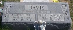 Elijah Portman Port Davis