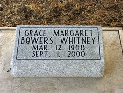 Grace Margaret <i>Bowers</i> Whitney