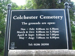Colchester Cemetery and Crematorium