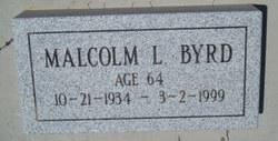 Malcolm Lee Byrd