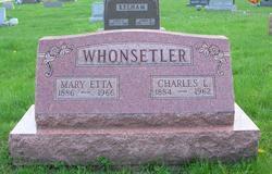 Mary Etta <i>Yarian</i> Whonsetler