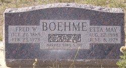 Etta May <i>Tueller</i> Boehme
