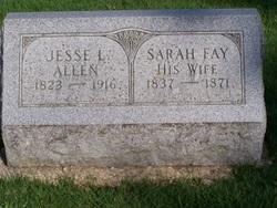 Sarah Ellen <i>Fay</i> Allen