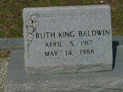 Ruth <i>King</i> Baldwin