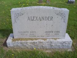 Elizabeth J <i>Janes</i> Alexander