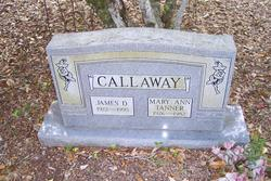 Mary Ann <i>Tanner</i> Callaway