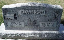 Barbara C Adamson