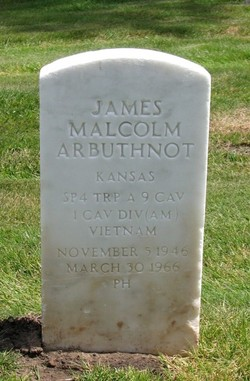 Spec James Malcolm Arbuthnot