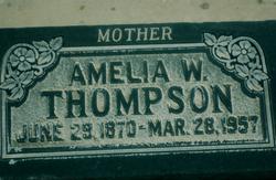 Annie Amelia <i>West</i> Thompson