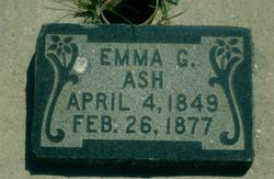 Emma <i>Gardiner</i> Ash