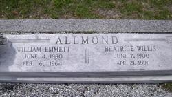 Beatrice <i>Willis</i> Allmond
