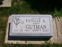 Estelle K <i>Albers</i> Gutman