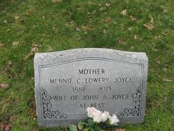 Mennie C. <i>Lowery</i> Joyce