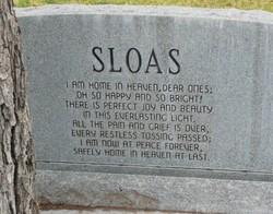Claris Evelyn <i>Stracener</i> Sloas
