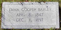 Emma <i>Cooper</i> Baxley