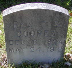 Rev Thomas Benton Cooper