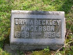 Orpha Leona <i>Beckley</i> Anderson