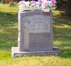 Almettie Mettie <i>Arvin</i> Moores