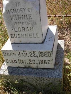 Minnie Bushnell