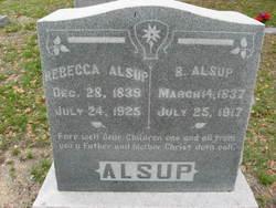Rebecca Jane <i>Wilson</i> Alsup