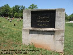 Jackson Memorial Gardens