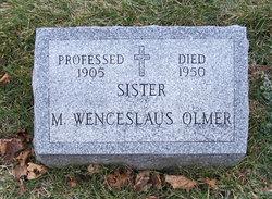 Sr Mary <i>Wenceslaus</i> Olmer