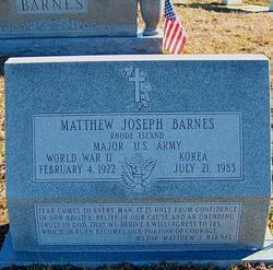 Matthew Joseph Barnes, Jr