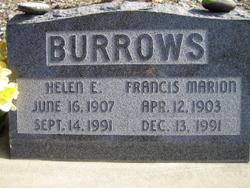 Helen Eloise <i>Rannells</i> Burrows