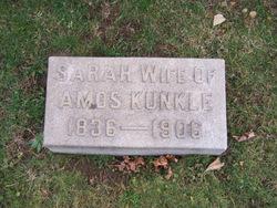 Sarah Sally <i>Kepple</i> Kunkle