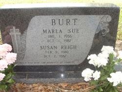 Marla Sue <i>Witt</i> Burt