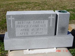 Bernadette Bertha <i>Daigle</i> Comeaux