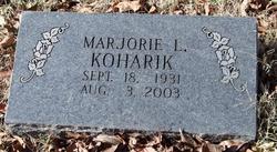 Marjorie L Koharik