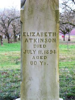 Elizabeth <i>Clemmens</i> Atkinson