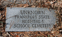 Frankfort State Hospital and School Cemetery